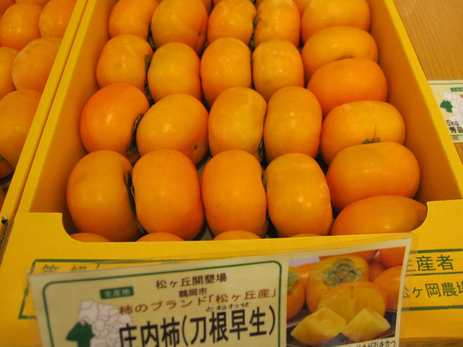 庄内柿 バラ