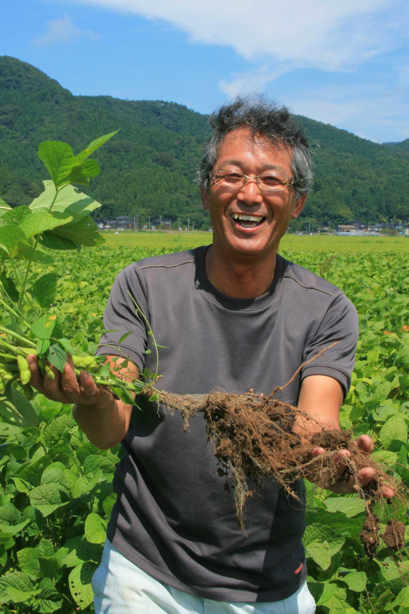山形県アンテナショップおいしい山形 素材を訪ねて|だだちゃ豆:黒坂伸悦さん(鶴岡市)
